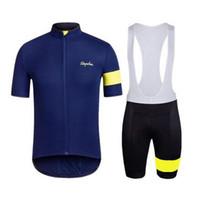 Uomini ciclismo jersey set ropa de ciclismo estate rafia manica corta mountain bike abbigliamento da mountain bike uniformi sportivi adatti H040809