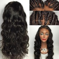 Unprocessed Brazilian Hair Silk Top Wig With Baby Hair Full ...