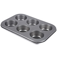 6 أكواب عموم غير عصا الصلب الكعك كب كيك عموم لأداة الخبز تورتة البيض لاذع البيض ، كب كيك ، الخ