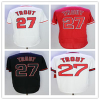 Men' s #27 MikeTrout Jersey Cheap wholesale High quality...