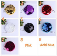 9 Colors 10cm Sequin Mermaid Coin Purse Mermaid Glitter Hand...