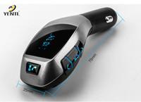 Livraison gratuite YENTL Kit de voiture Bluetooth Lecteur MP3 Transmetteur FM USB X5 TF Chargeur mains libres musique mp3 usb lecteur audio pour Smartphone X5