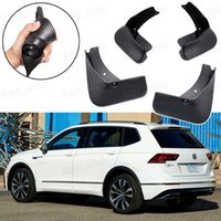 Nuevo 4Pcs Guardabarros guardabarros Guardabarros Fender guardabarros para VW Tiguan R-Line 2018 2019