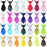 Mini Pet Colliers Colliers Couleurs De Bonbons Mignons Chien Chat Cravate Vêtements Décoration Animaux Harnais Fournitures Costume Petit Chiot 2 5jh ZZ