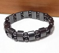 Magnetic Hematite Fashion Pain Therapy Bracelet Clasps Arthr...