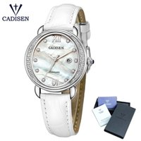 2018 New CADISEN Brand New Geneva Ladies Quartz Rhinestone W...