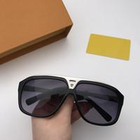 Nueva alta calidad 0105 mujeres populares del estilo de la moda gafas de sol de los hombres gafas de sol gafas de protección UV de gafas de sol con la caja original
