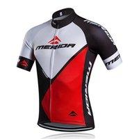 Merida Team Män Racing Cykling Jersey Toppar Bike Shirt Kortärmad Cykel Kläder Snabbtorkande Cykling Kläder
