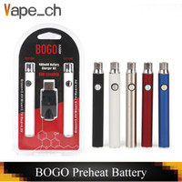 BOGO LO Preheat 400mAh Battery Double Pen USB Charger Bliste...
