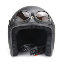 NEW Arrival WWII Vintage Harley style motorcycle goggles Pil...