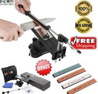 Ruixin Pro II Afilador de cuchillos Actualización Cocineros Cocina profesional Afilador de cuchillos más afilado Fix-angle 4 afiladas Apex