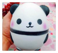 Hot Kawaii Jumbo Panda Squishy Doux Collectibles Doux Collection Bande Dessinée Doux Parfumé Super Lente Rising Emballage D'origine