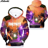 Hoodie Men' s Game 3D Fortnite Hoodies Men Sweatshirt Wo...