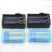 charger 4 18650 4000mAh 3. 7V Rechargeable Li- ion Batteries +...