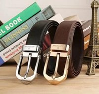 2018 Pin Buckle Belt High Quality Genuine Leather Waist Stra...
