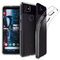 1,0mm Grubość Przezroczyste TPU Wstrząsoodporne Slim Usuń Gel Case dla Google Pixel 3 3a 4 4A 5 XL Moto E7 G8 Power Lite G9 Odtwórz g 5g Jeden Fusion