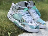 2018 Best Authentic 5 Wings 3M Reflective White Green 5S V M...