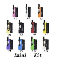 Kit original de Imini Cartuchos de aceite grueso Vaporizador Kit 500 mAh Caja Mod Batería 510 Hilo Nuevo Liberty V1 Tanque Cera atomizador Vape Pen