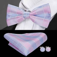 Noeud papillon de la mode Groom Men coloré Plaid Cravat gravata mâle mariage papillon mariage noeuds papillon d'affaires noeud papillon LH-715