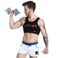 Peito Suporte Colete Colete Confortável Neoprene Respirável de secagem Rápida Esporte colete para homens Imprimir Caráter Voltar Suporte
