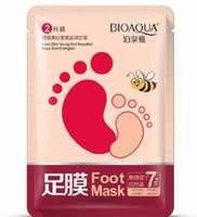 BIOAQUA feet mask Milk and Bamboo Vinegar foot Mask skin Pee...