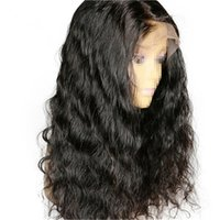 Front Lace Wigs 150% Density Body Wave Human Hair Remy Vrigi...