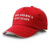 جعل أمريكا العظمى مرة أخرى قبعة قبعة دونالد ترامب الجمهوري البيسبول كاب هدية عيد الميلاد قبعة بيسبول Snapback قبعات 9 ألوان