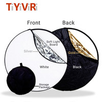 wholesale 60CM 80CM 5 in 1 Collapsible Multi- Disc Light Refl...