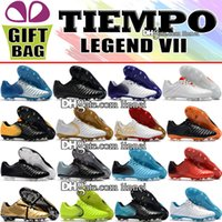 High Quality Mens Leather Football Boots Tiempo Legend VII F...
