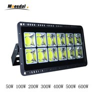 COB Led Flood Light 50W 100W 200W 300W 400W 500W 600W Luci di inondazione a led per esterni Impermeabile IP65 AC 85-265V