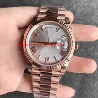 6 Stile Eccellente TopSellering di buona qualità Orologio da polso 41mm 18K oro rosa Asia 2813 Movimento Automatico Meccanico Mens orologio da uomo orologi