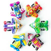 Carino Mini Tirare indietro Aereo Aerei Giocattoli Per Bambini Bambini Mini Aereo Modello Cartoon Tirare indietro Giocattoli per Bambini Boy Regali YH1528