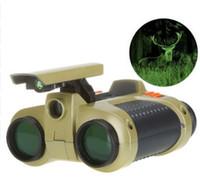 4x30 مجهر تلسكوب المنبثقة ضوء للرؤية الليلية نطاق مناظير الجدة الأطفال كيد بوي لعب هدايا llfa