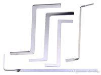 حار! 5 قطع أدوات الأقفال متعددة الوظائف معدن التوتر قضيب / puch رود tubestension وجع ل قفال التموين