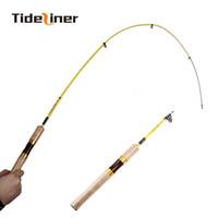 Tideliner marque UL canne à pêche filature 1.8m 1-6g leurre ultra-léger en fibre de carbone mini cannes à pêche filature télescopiques 2-6LB