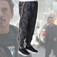 2018 New Arrival Mens Pants for Avengers Iron Man Tony Stark...