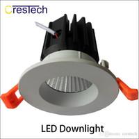 Profesyonel LED fabrika LED downlight ev mutfak bathroon ofis Izgara için kapalı lamba Izgara tavan ışık yüksekliği parlaklık
