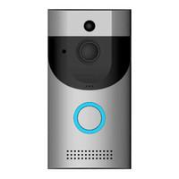 / PIR Tam Dubleks iOS Android pil w WIFI adet Video kapı zili kamera interkom sistemi kablosuz ev ip kapı zili telefon zili powered