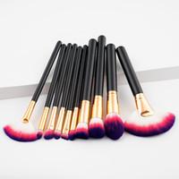 مجموعة فراشي الماكياج المميزة لأدوات فرش العيون Blush Foundation Blush Foundation كل مجموعة 7 ألوان متوفرة DHL Free