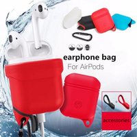 Soft Bag for Airpods Silicone Case Soft Cover Protector with...