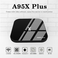 A95Z Plus Android 8. 1 TV Box S905Y2 Quad Core LPDDR4 4GB 32G...
