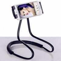 sinle-piece Lazy Neck Soporte para teléfono con soporte Soporte universal flexible para iPhoen 6 7 8 Samsung Galaxy S7 S8 Soporte para teléfono móvil Xiaomi