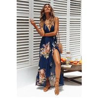 cc3609c1d1 Wholesale sexy hippie clothes for sale - Dress Long Summer Bohemian Clothing  Women Large Size Casual