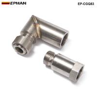 EPMAN - автомобильный выхлопной датчик кислорода O2 удлинитель под углом 90 градусов 02 удлинитель заглушки M18 X 1.5 EP-CGQ83