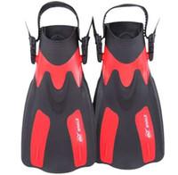 2b8233e7b97 WHALE Swimming Fins Swimming Diving Open Heel Fin Foot Flippers Scuba  Equipment Gear Swimming Equipment short Frog shoes