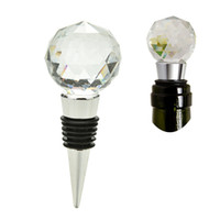 Wine Stopper Twist Wedding Favors Gifts Crystal Ball Red Win...