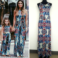 2018 Mommy and Me Family Matching Mother Daughter Dresses Cl...
