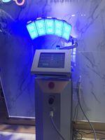 새로운 도착 높은 전원 층 서 전문적인 주도 pdt 바이오 가벼운 치료 기계 적색 빛 + 푸른 빛 + 적외선 광선 요법