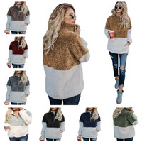 Sherpa Pullover Women Hoodies Winter Autumn Fleece Sweatshir...