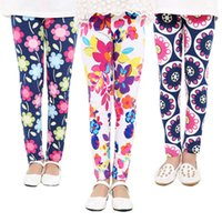 27Styles Girls Spring Pants Floral Printed Leggings Kids Gir...